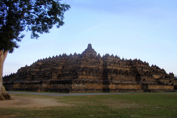 Java-Indonesie-tempel-Borobudur